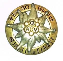 Für 50 jährige Mitgliedschaft ŐAV