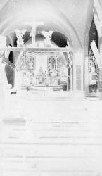 Lignan interno della chiesa