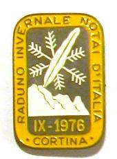 Raduno Invernale Notai d'Italia IX-1976 Cortina