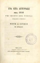 Una gita autunnale nel 1846
