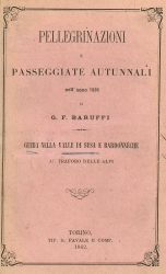 Pellegrinazioni e passeggiate autunnali nell'anno 1861