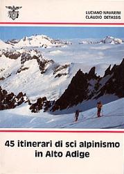 45 itinerari di sci alpinismo nel Trentino