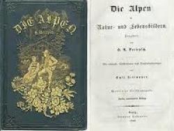 Die Alpen in natur und Lebensbildern