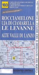 Rocciamelone, Uja di Ciamarella, Le Levanne