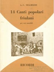 14 canti popolari friulani