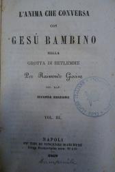 L'anima che conversa con Gesu Bambino nella grotta di Betlemme / per Raimondo Giovine. 3.: