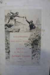 Saluto agli alpinisti intervenuti al pranzo d'inaugurazione alla Palestra alpina del Monte dei Cappuccini, Torino 2 settembre 1894