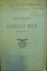 Cenno biografico della guida Emilio Rey di Courmayeur