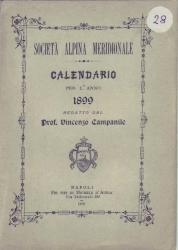 Calendario per l'anno 1899