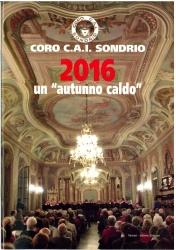 Coro C.A.I. Sondrio 2016