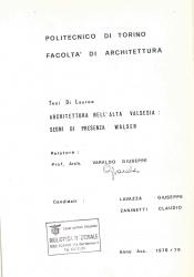 Architettura nell'alta Valsesia
