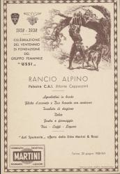 Rancio Alpino Palestra C.A.I. (Monte Cappuccini)