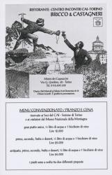 Ristorante-Centro incontri CAI-Torino Bricco & Castagneri