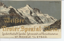 Weifser Tiroler Spezial-Wein
