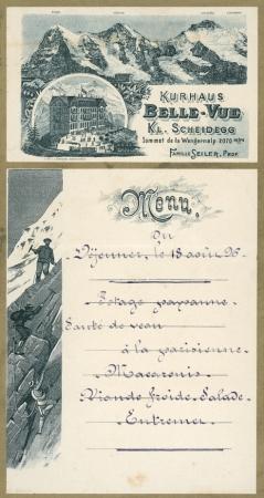 Kurhaus Belle-Vue Kl. Scheidegg