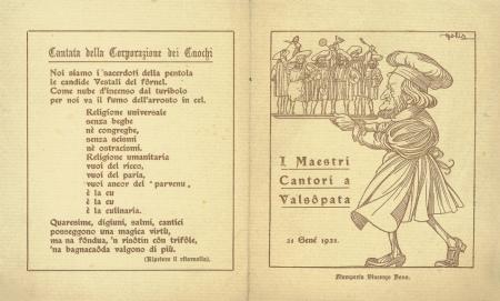 I maestri cantori a Valsôpata
