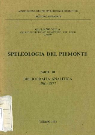 3: Bibliografia analitica, 1961-1977