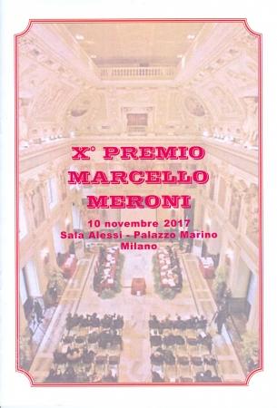 X° Premio Marcello Meroni