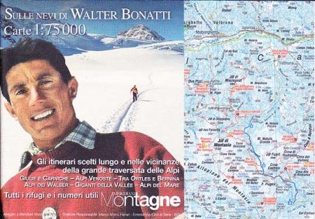 Sulle nevi di Walter Bonatti