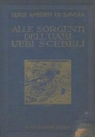 La esplorazione dello Uabi-Uebi Scebeli