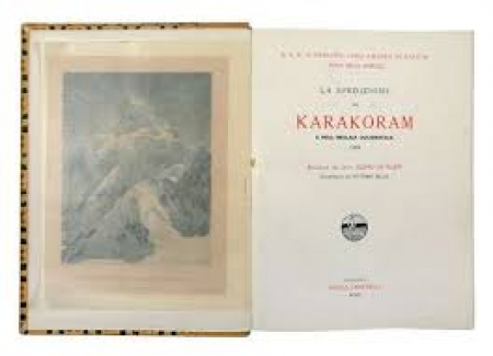 La spedizione nel Karakoram e nell'Imalaia occidentale