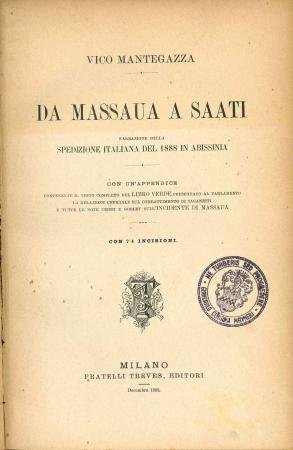 Da Massaua a Saati