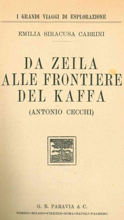 Da Zeila alle frontiere del Kaffa