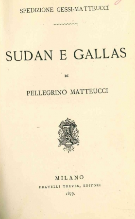 Sudan e Gallas