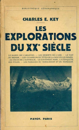 Les explorations du 20. siecle