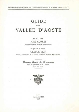Guide de la Vallée d'Aoste