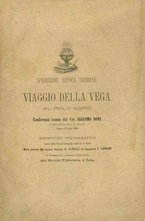 Viaggio della Vega al Polo Nord