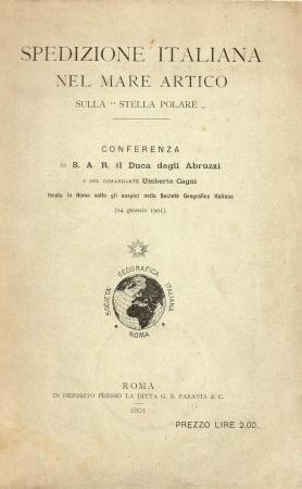 Spedizione italiana nel Mare artico sulla Stella Polare