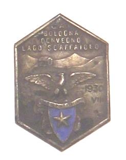 CAI Bologona Convegno Lago Scaffaiolo 1930 VIII