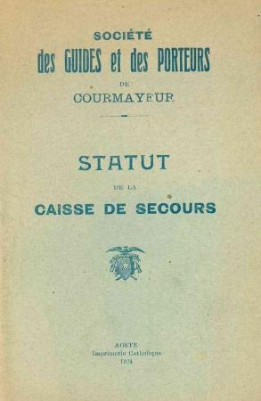 Statut de la de la caisse de secours