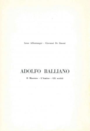 Adolfo Balliano