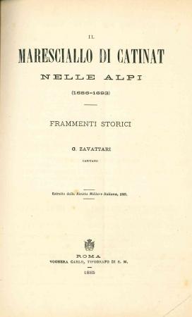Il maresciallo di Catinat nelle Alpi (1686-1693)