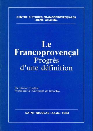 Le francoprovençal