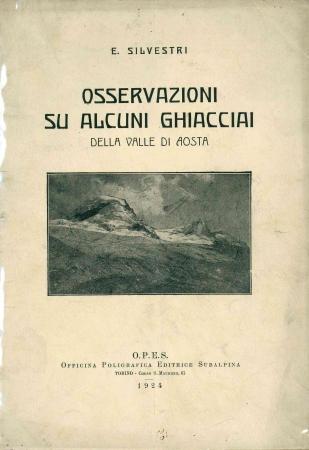 Osservazioni su alcuni ghiacciai della Valle d'Aosta