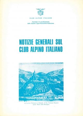 Notizie generali sul Club Alpino Italiano
