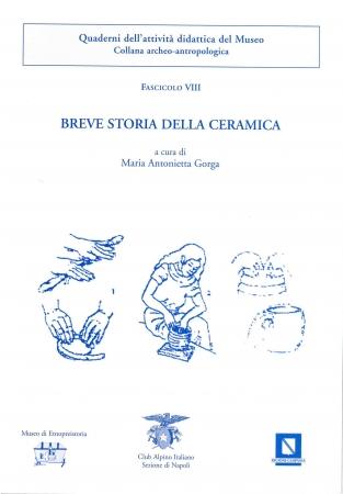 Fascicolo 8: Breve storia della ceramica