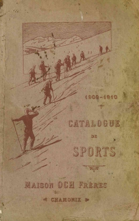 Catalogue de sports, 1909-1910