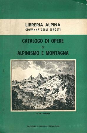 Catalogo di opere di alpinismo e montagna