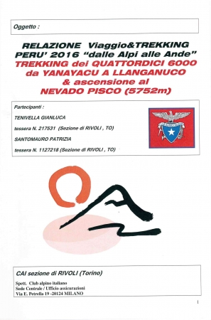 Trekking dei quattordici 6000 da Yanayacu a LLanganuco & ascensione al Nevado Pisco (5752 m)