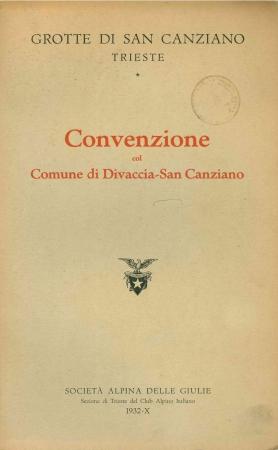 Convenzione col Comune di Divaccia-San Canziano