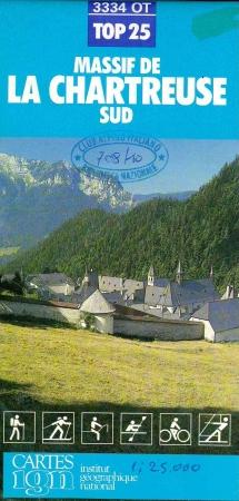 TOP 25 3334 OT, Massif de la Chartreuse sud