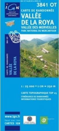 TOP 25 3841 OT, Vallée de la Roya, Vallée des Merveilles, Parc national du Mercantour