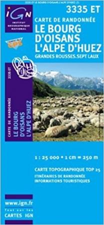 TOP 25 3335 ET, Le Bourg d'Oisans, L'Alpe d'Huez, Grandes Rousses-Sept Laux