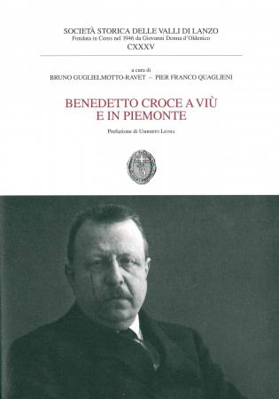 Benedetto Croce a Viù e in Piemonte
