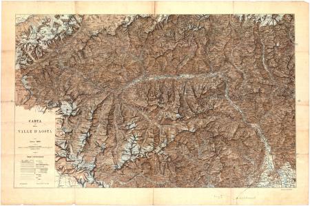Carta della Valle d'Aosta