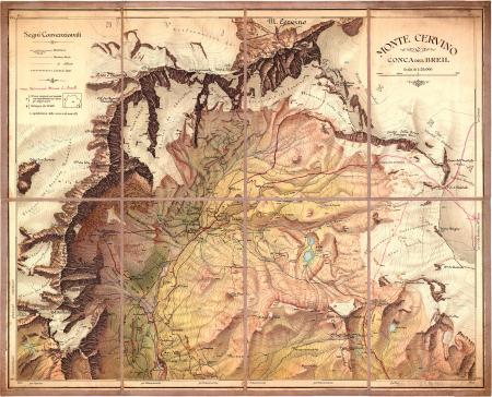Monte Cervino : Conca del Breil